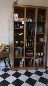locally made muesli, oils, jams, relishes, teas, etc for sale