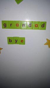 bye grandad