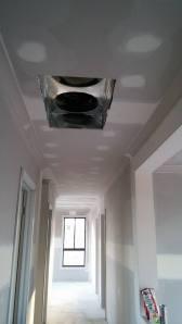 air con return in hallway