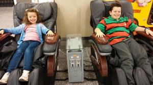 massage chairs at the square