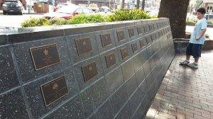 memorial wall kiama
