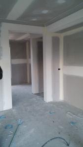 walkin pantry showing fridge housing