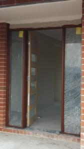 entrance stained today, still with old door