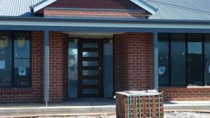 new front door in place