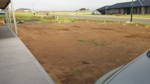 from driveway pre turf