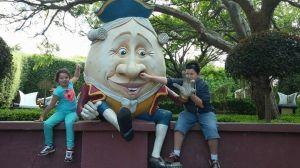 attaching Humpty Dumpty