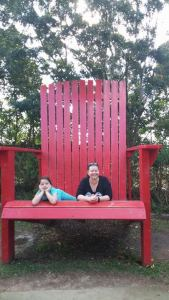 Megan and I in the big chair