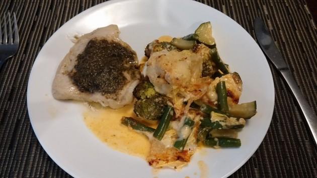 fish & veg dinner