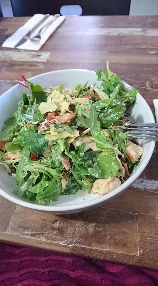 chicken caesar salad Terminal Hotel Quirindi