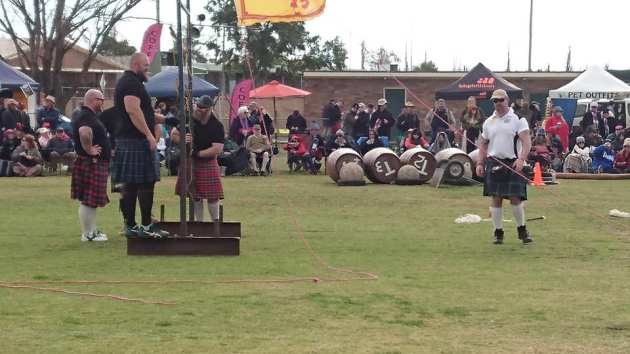 strongmen in kilts